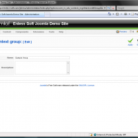 Add/Edit context group form